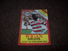 Wigan v Featherstone Rovers, 1988/89